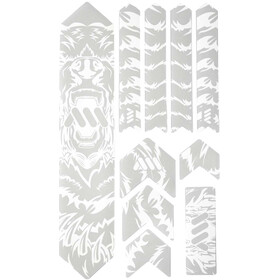 All Mountain Style Extra Frame Protection Kit 10 Pieces, clear/bear